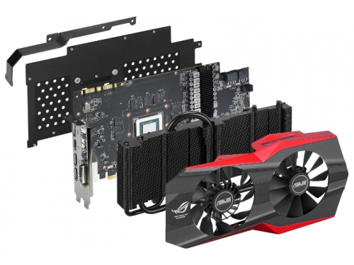 ���������� GeForce ASUS GeForce GTX 980 PCI-E 3.0 4096Mb 7010Mhz 256 bit DVI HDMI HDCP (MATRIX-GTX980-4GD5), ��� 5