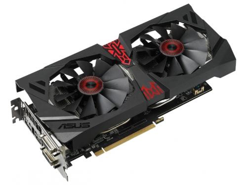 Видеокарта Radeon ASUS Radeon R9 380 990Mhz PCI-E 3.0 4096Mb 5500Mhz 256 bit 2xDVI HDMI HDCP (STRIX-R9380-DC2OC-4GD5-GA), вид 2
