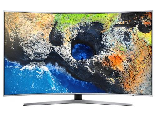 телевизор Samsung UE49MU6500U, Серебристый, вид 2