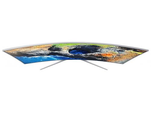 телевизор Samsung UE49MU6500U, Серебристый, вид 8
