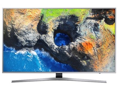 телевизор Samsung UE49MU6400, Серебристый, вид 1