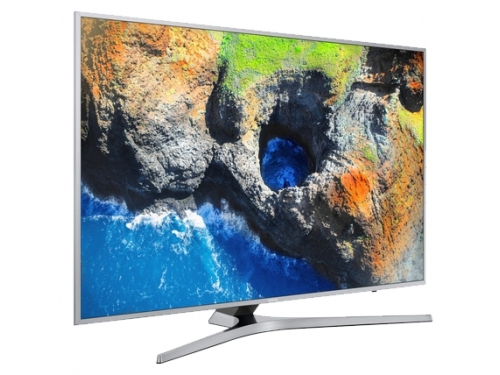 телевизор Samsung UE49MU6400, Серебристый, вид 3