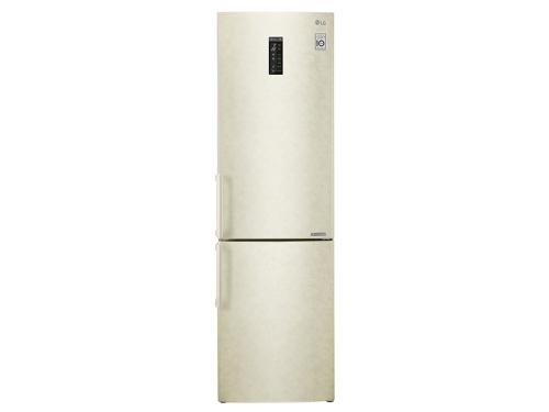 Холодильник LG GA-B499YEQZ, бежевый, вид 2