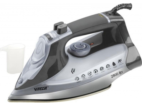 Утюг Vitesse VS-685, черно-белый, вид 1
