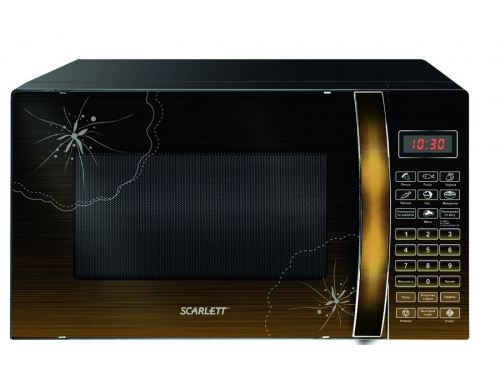 Микроволновая печь Scarlett SC-MW9020S04D, черная, вид 1