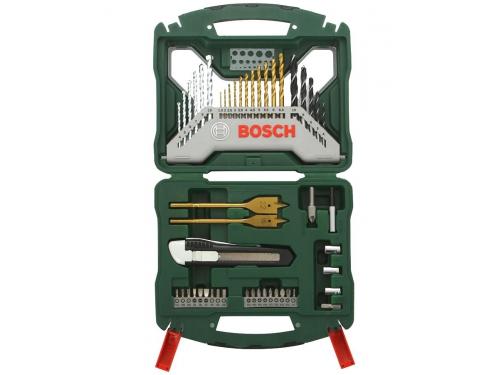 Набор инструментов BOSCH X-Line 50 (2607019327), биты и свёрла, 50 предметов, вид 1
