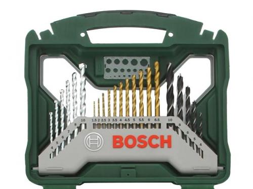 Набор инструментов BOSCH X-Line 50 (2607019327), биты и свёрла, 50 предметов, вид 2