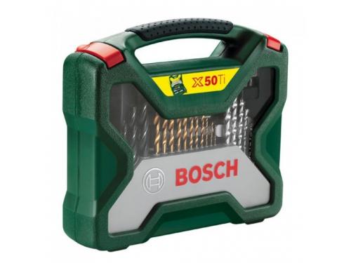 Набор инструментов BOSCH X-Line 50 (2607019327), биты и свёрла, 50 предметов, вид 3