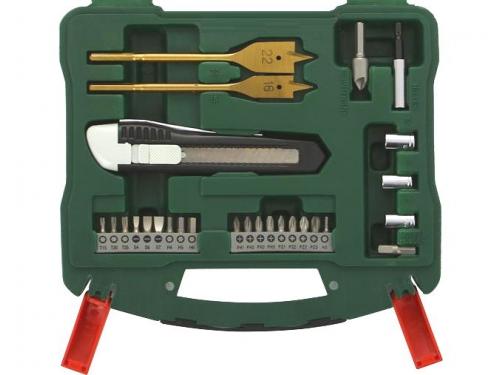 Набор инструментов BOSCH X-Line 50 (2607019327), биты и свёрла, 50 предметов, вид 4