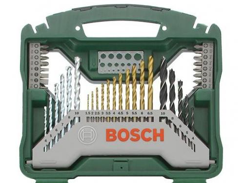Набор инструментов Bosch X-Line 70 Ti (2607019329), биты и свёрла, 70 предметов, вид 3