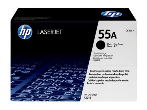 Картридж HP LaserJet 55A чёрный для Enterprise 500 M525(dn/f/c), Enterprise P3015(-/d/dn/x), Pro M521(dn/dw), вид 1