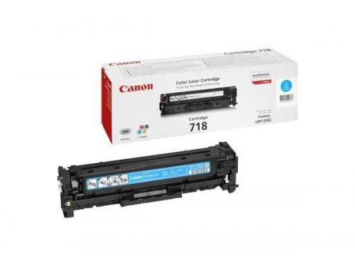 Картридж Canon 718 С Голубой, вид 1