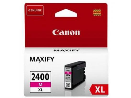 Картридж CANON PGI-2400XL M, Пурпурный, вид 1