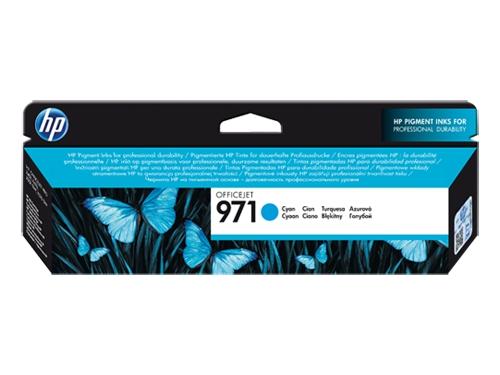 Картридж HP 971, Голубой, вид 1