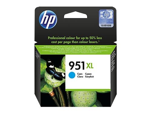 Картридж HP 951XL, Голубой (увеличенной емкости), вид 1