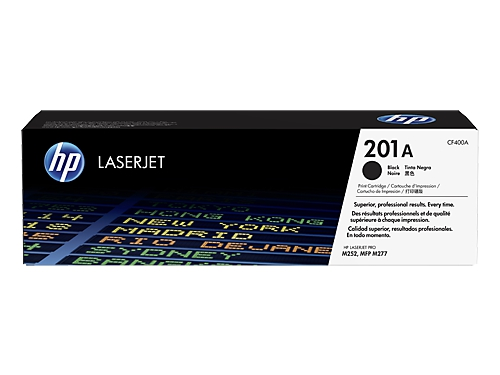 Картридж HP 201A, Черный, вид 1