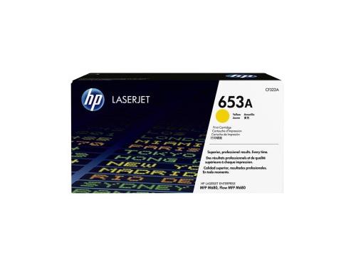 Картридж HP 653A Желтый, вид 1