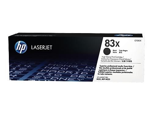Картридж HP 83X Черный (увеличенной емкости), вид 1