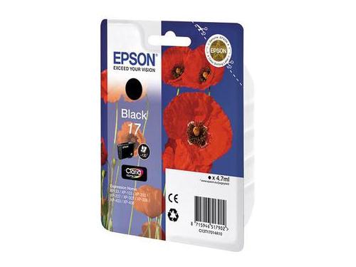 Картридж EPSON для  Expression Home XP103/203/207 черный, вид 1