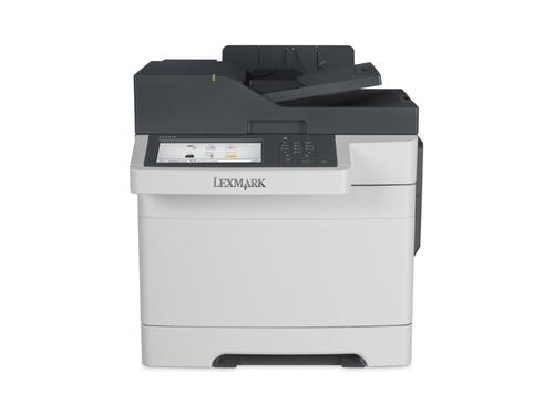 МФУ Lexmark CX510de, белое, вид 1