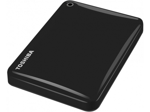 Жесткий диск TOSHIBA CANVIO Connect II 1TB, чёрный, вид 2