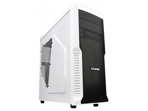 Корпус Zalman Z3 Plus White (без блока питания), вид 1