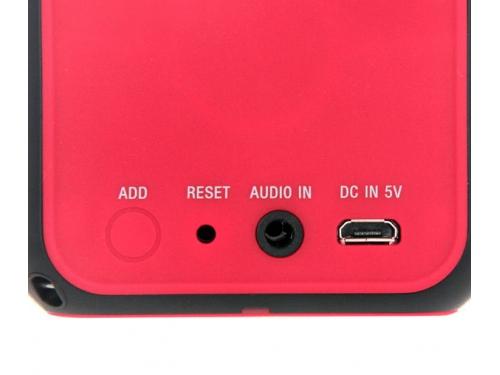 Портативная акустика Sony SRS-X11, красная, вид 2