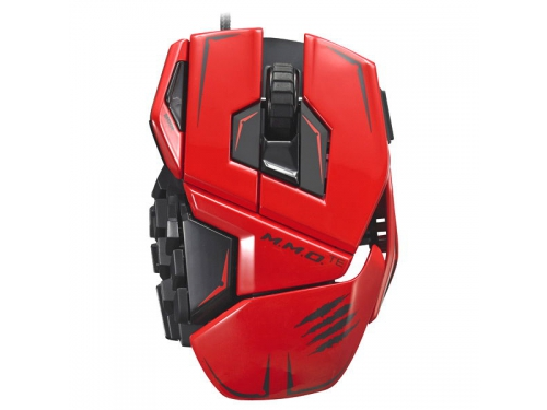 ����� Mad Catz M.M.O. TE Gaming Mouse Red USB, ��� 1