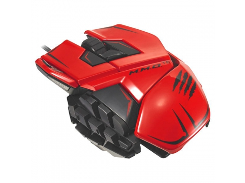 ����� Mad Catz M.M.O. TE Gaming Mouse Red USB, ��� 3