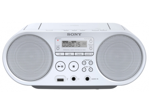 Магнитола Sony ZS-PS50/WС, белая, вид 1