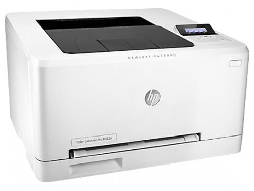 Лазерный ч/б принтер HP Color LaserJet Pro M252n b4a21a, вид 2