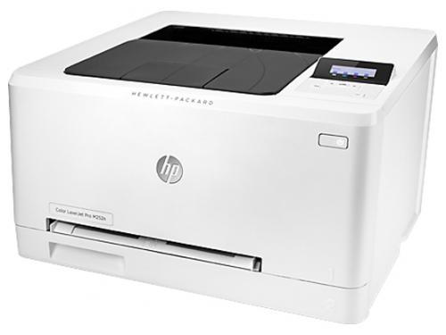Лазерный ч/б принтер HP Color LaserJet Pro M252n b4a21a, вид 3