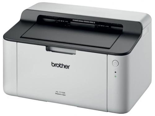 Принтер лазерный ч/б Brother HL-1110R, вид 3