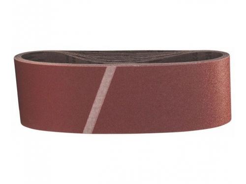 Шлифмашина Набор шлифовальных лент BOSCH 2608606083 (75 x 533 мм, 100 Grit), 10 шт., вид 1