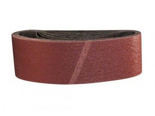 Шлифмашина Набор шлифовальных лент BOSCH 2608606080 (75 x 533 мм, 40 Grit), 10 шт., вид 1