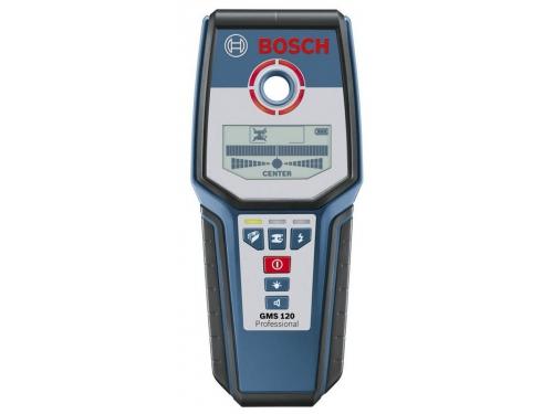 Детектор металла BOSCH GMS 120, + обнаружение древесины [0601081000], вид 1