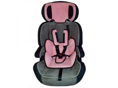 Автокресло Everflo LD-01, розовое, вид 1