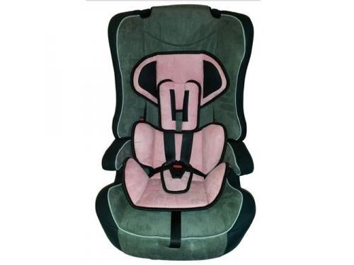Автокресло Everflo LD-02, розовое, вид 1