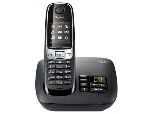 Радиотелефон Gigaset C620A, Чёрный, вид 1