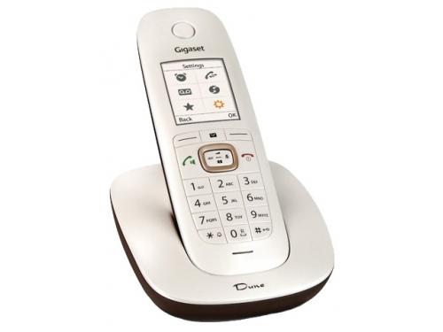 Радиотелефон DECT Gigaset CL540 Dune, Бело-коричневый, вид 1