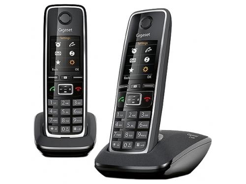 Радиотелефон Dect Gigaset C530 DUO, чёрный, вид 1