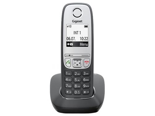 Радиотелефон Gigaset A415, Чёрный, вид 1