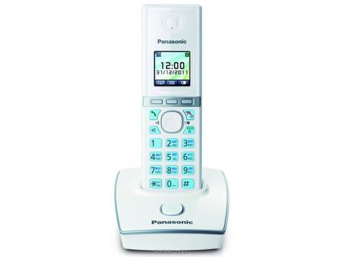 Радиотелефон Panasonic KX-TG8051 RUW, белый, вид 1