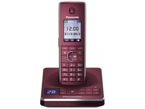 Радиотелефон Panasonic KX-TG8561RUR Красный, вид 1