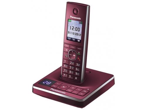 Радиотелефон Panasonic KX-TG8561RUR Красный, вид 2