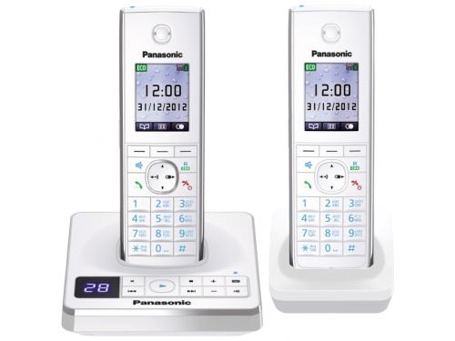 Радиотелефон DECT Panasonic KX-TG8562RUW Белый, вид 1