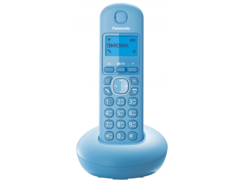 Радиотелефон DECT Panasonic KX-TGB210RUB Голубой, вид 1
