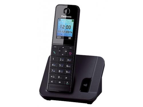 Радиотелефон DECT Panasonic KX-TGH210RUB Черный, вид 1