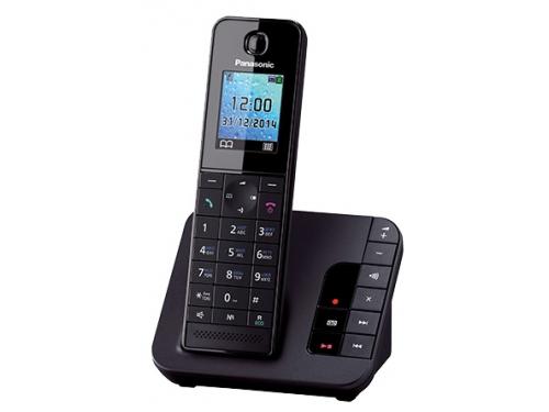 Радиотелефон DECT Panasonic KX-TGH220RUB Черный, вид 1