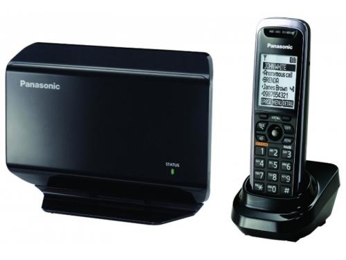 Радиотелефон Panasonic KX-TGP500B09 SIP, чёрный, вид 1